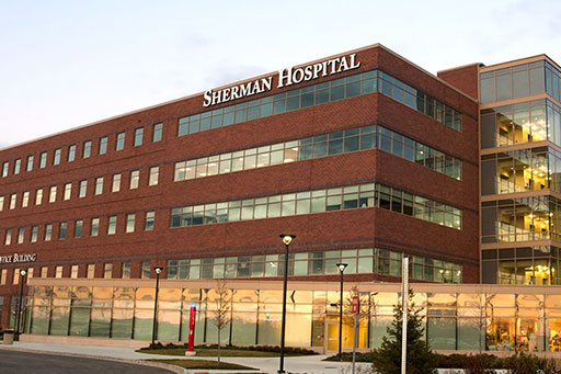 "</p> <h4><a href=""https://www.advocateaurorahealth.org/"" target=""_blank"">Advocate Sherman Hospital</a></h4> <p>"