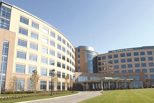 """</p> <h4><a href=""""https://www.silvercross.org/"""" target=""""_blank"""">Silver Cross Hospital</a></h4> <p>"""